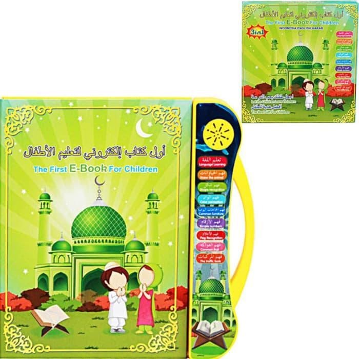 Grosir Mainan anak Muslim ebook e-book e book MUSlim 3 bahasa Murah 985b323fc4