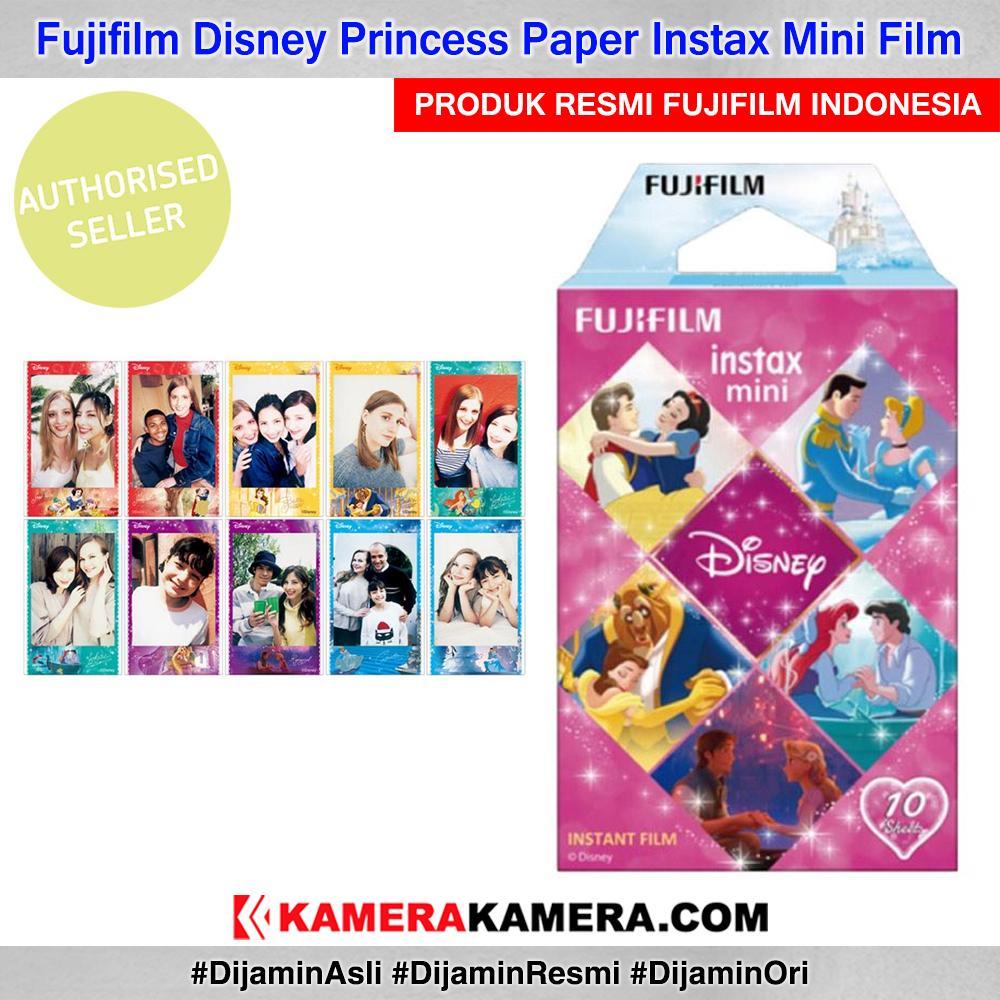 Fujifilm Instax Paper Disney Princess Character Film 10 Sheet Original By Kamerakamera.