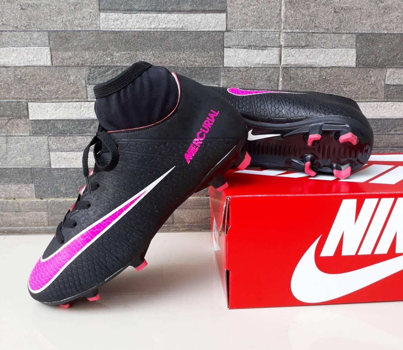 Sepatu Sepak Bola Nike_Mercurial hyperpenom Nike_skin Predator Komponen Original Harga Promo MURAH MERIAH