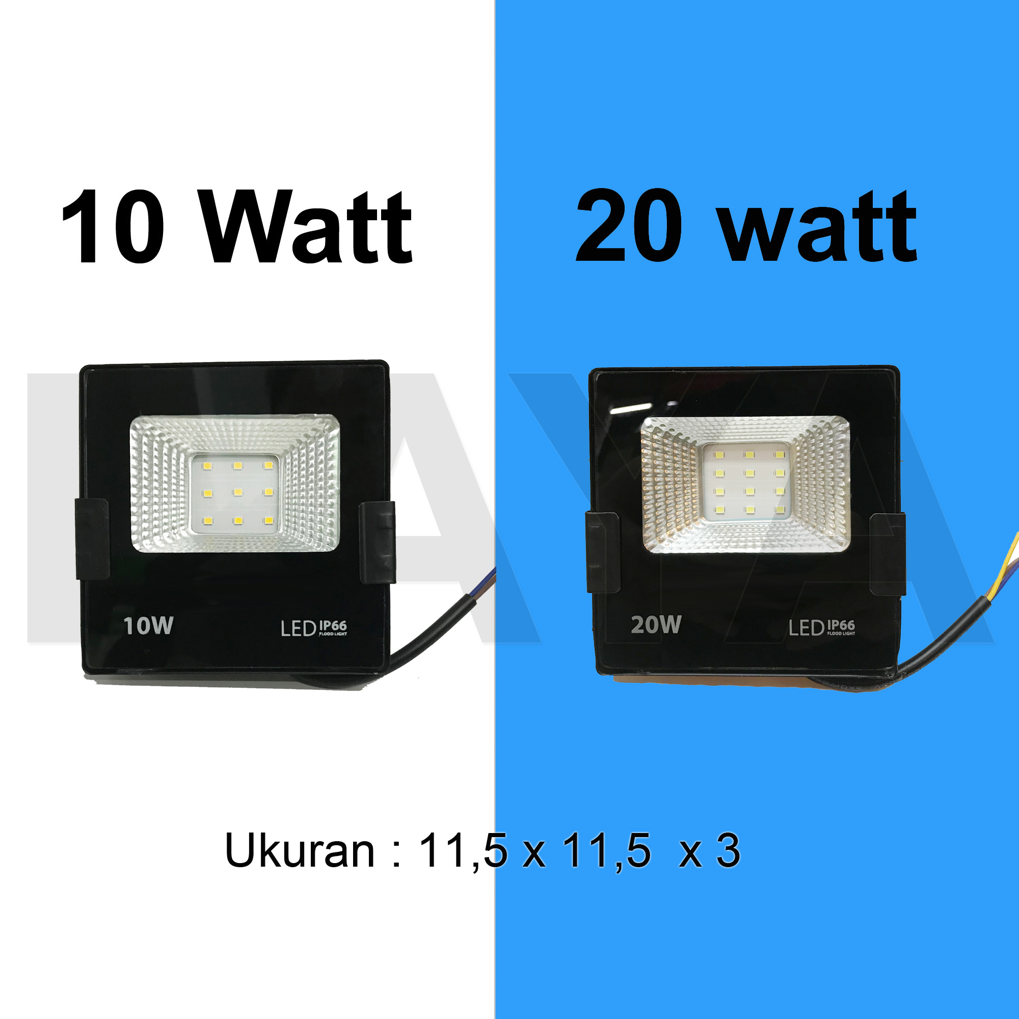 lampu led sorot / tembak / floodlight / outdoor 10w 10 watt 20w 20 watt REFLECTOR