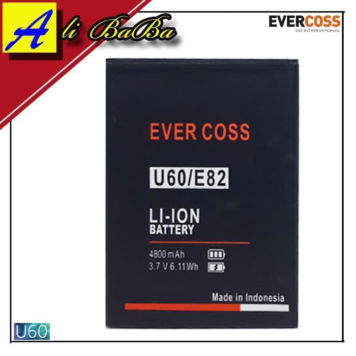Baterai Handphone Evercoss U60 E82 Doe Power Evercoss Batre HP