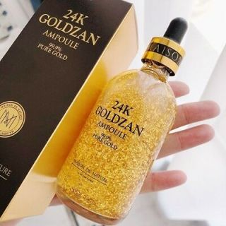 LS-GOLDZAN Serum 99% Pure 24K Ampoule 100ml by Skinature 100% Original Korea - Serum Pemutih Wajah - Serum Kecantikan - Serum Whitening - Serum Goldzan Serum Korean thumbnail