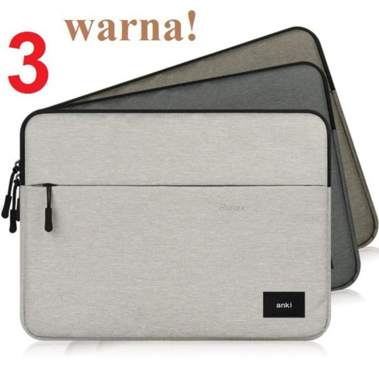 Tas softcase laptop notebook netbook ANKI Sleeve Premium Asus Dell HP Acer 11.6 12 13 14 15 inch