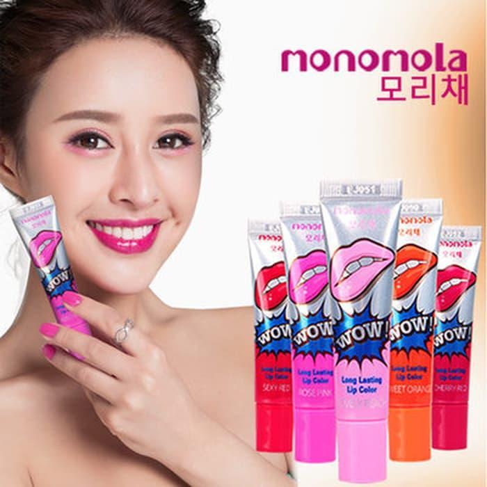 Best Seller Monomola Lip Lips Lips Tatoo Lipstick Lipstik Tatoo Tidak Luntur - Myfqurxu By Michaelia Collections