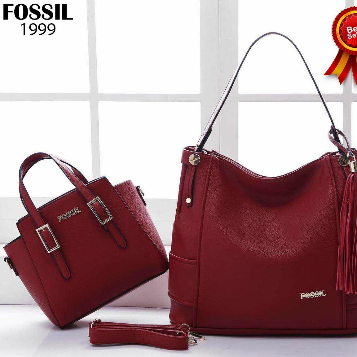 tas wanita fossil hobo mewah branded import elegan tas kerja cewek santai  shopping best sellee batam 6c358e0acf