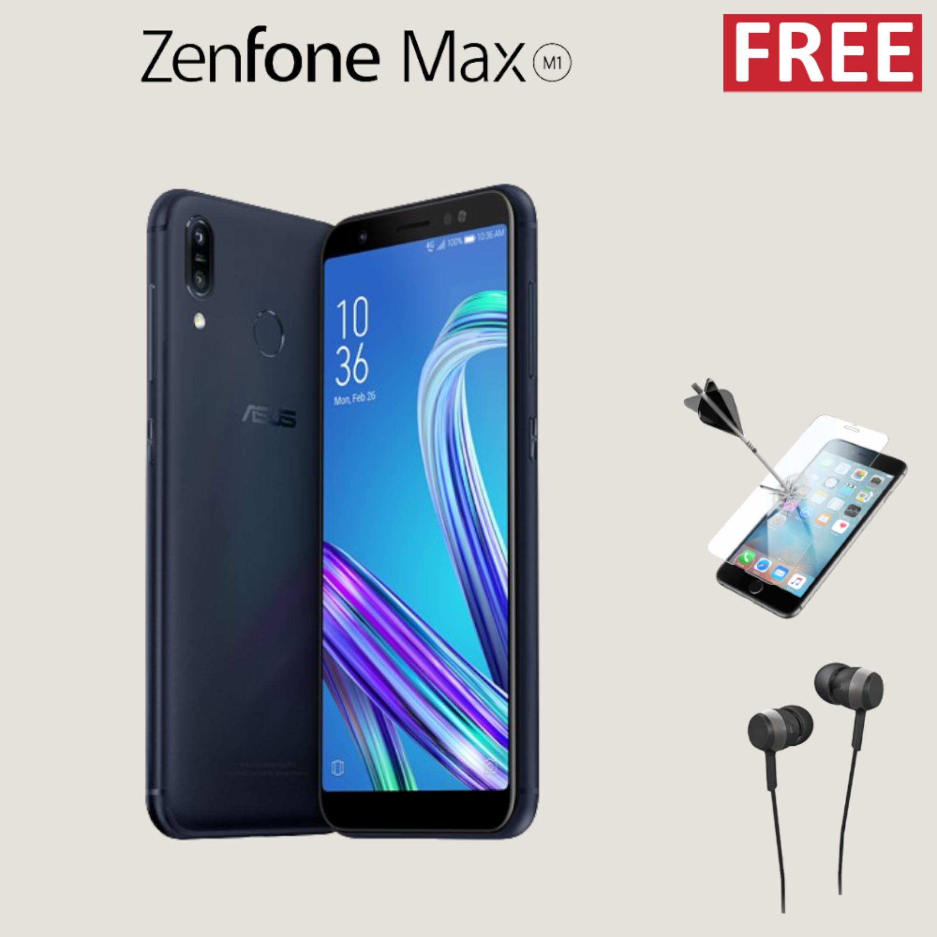 Asus Zenfone Max M1 ZB555KL 4000mAh + Free Special Gift Garansi Resmi