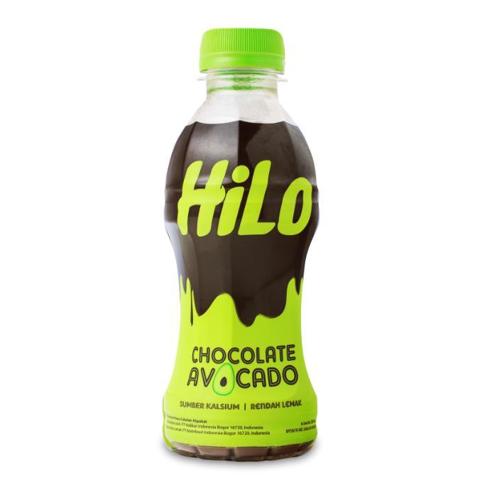 Hilo Chocolate Avocado Rtd 24pcs @200ml - Tinggi Kalsium Rendah Lemak (jabodetabek Only) By Nutrifood Indonesia
