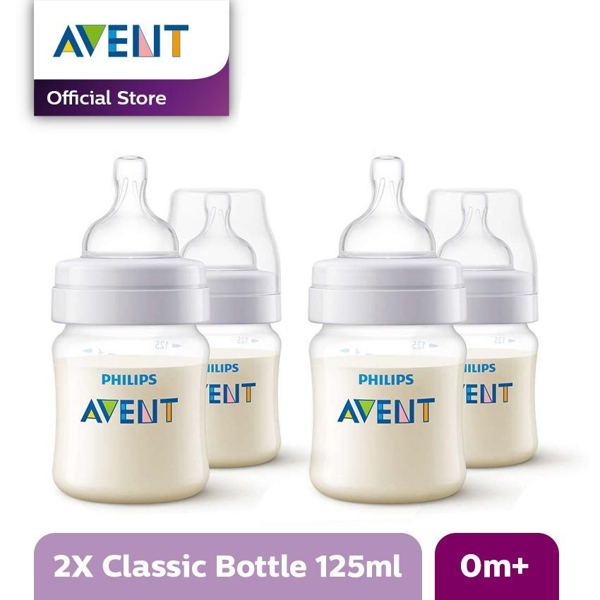 Scf560/27 Bottle Classic Plus Pp 125 Ml/4oz Twin Pack (buy 2 Save More) By Lazada Retail Philips