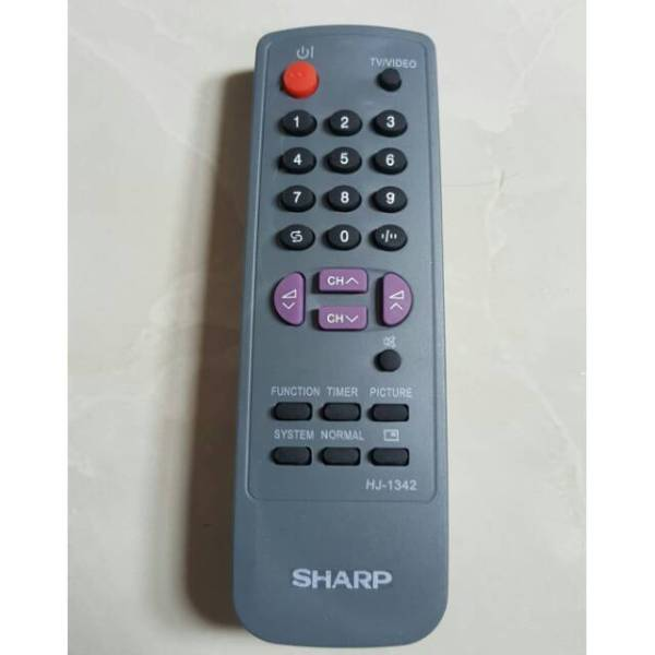 Sharp Remote Control untuk TV Tabung & CRT Free Batterai