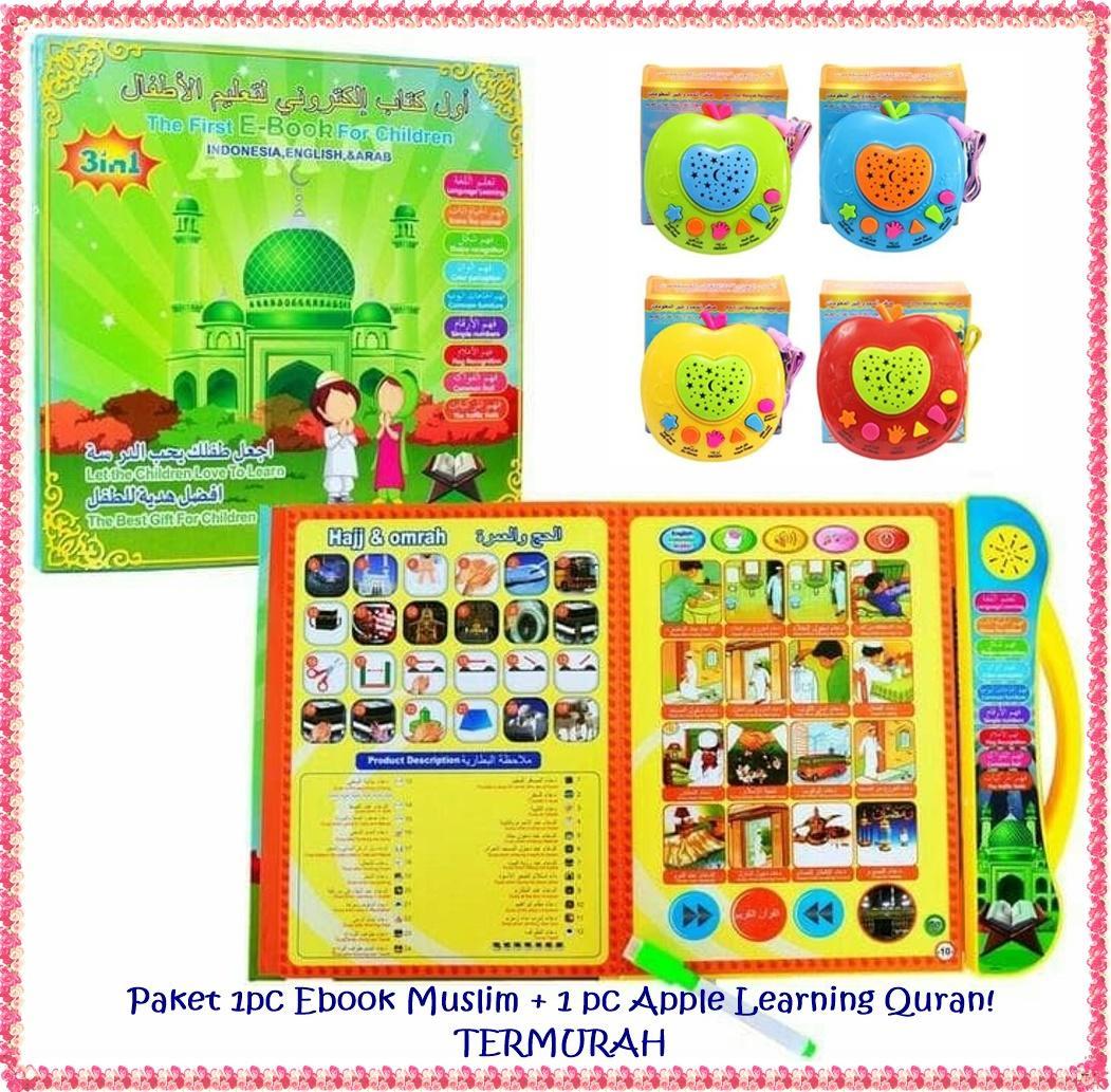 11BestStore -- Paket Mainan Edukasi Ebook Muslim 3 Bahasa   Mainan Anak  Edukatif + Apel 68fbefd4a5