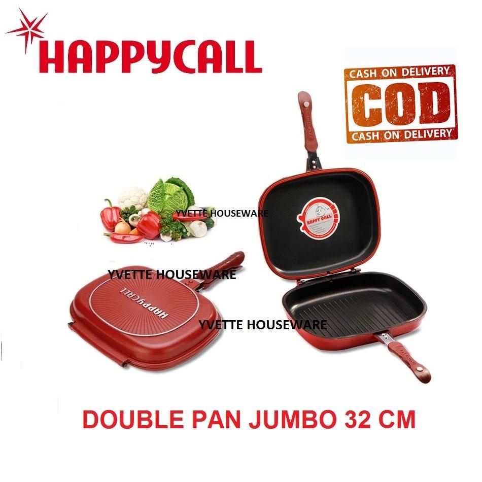 [PROMO] Happy Call Korean Double Side Pan / Double Pan Jumbo Size- 32