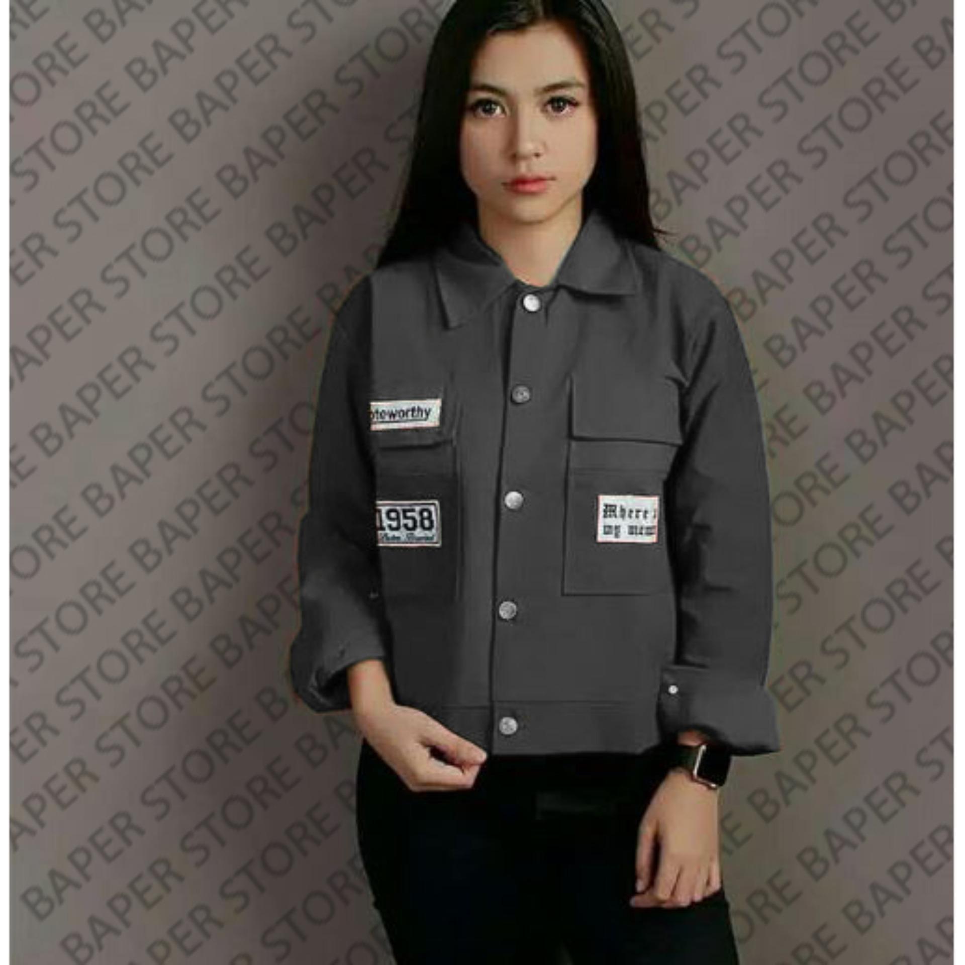 Jacket Wanita Original Parka Note Trendy Best Promo