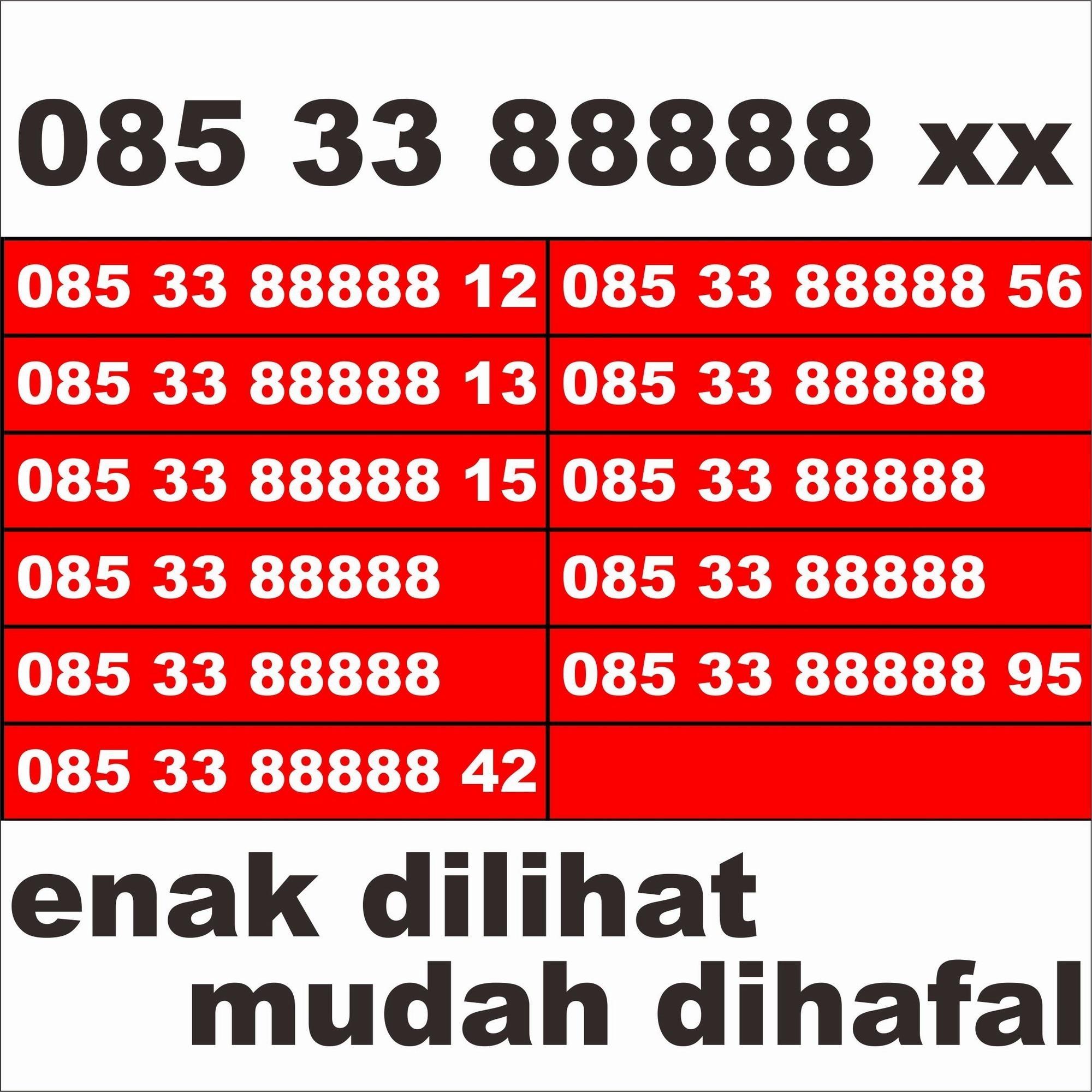 Kartu perdana nomer cantik nomor cantik pilihan telkomsel as kartu prabayar super istimewa hoki hoky ENAK