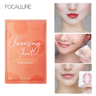 FOCALLURE makeup remover clearing sheet 1pcs 1