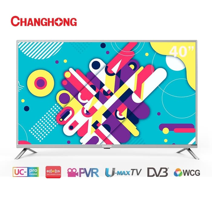 LED TV Changhong 40 Inch L40H1 Digital TV Full HD TV HDMI USB MOVIE