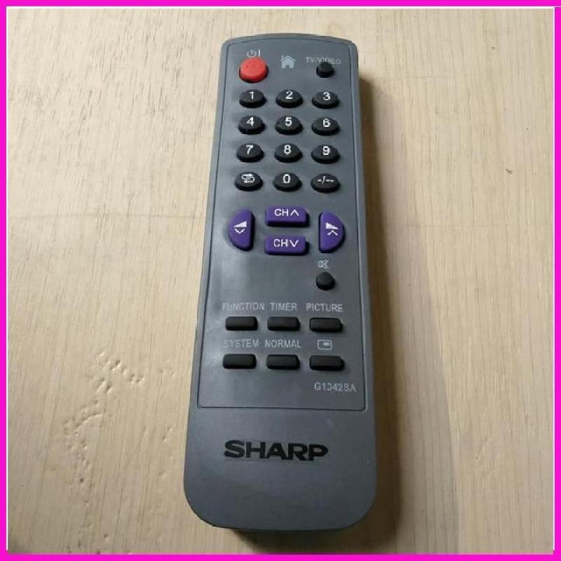 SHARP Remote Tv Tabung Semua Type PASTI COCOK GAK PAKAI PROGRAM