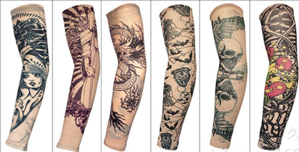 Sarung Lengan TaTo (Manset Tato) Tattoo Sleeves - Manset Tatoo Arm Sleeve Manset Tato ( Motif Rando