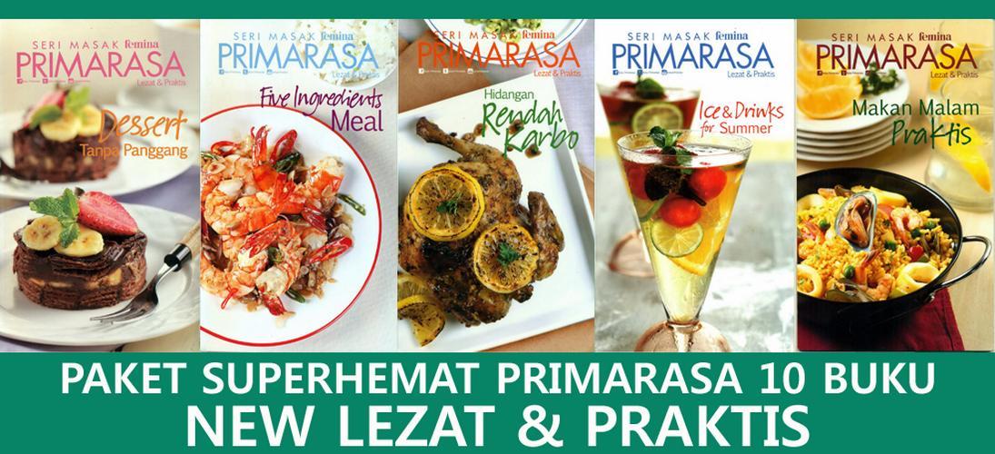 New Lezat & Praktis Paket Superhemat 10 Buku Primarasa By Feminagroup.