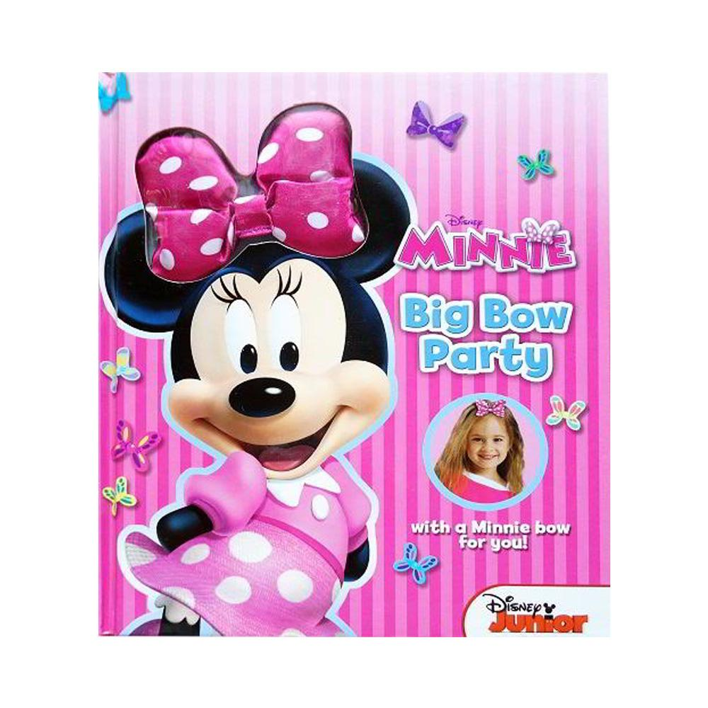 Buku Anak Genius Big Bow Party With A Minnie Bow For You! By Genius Baby Book.