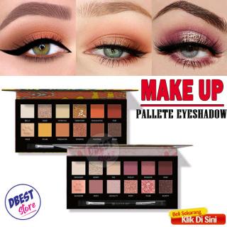 IMAGES Make Up Set Pallete Lengkap 1 Set - Eyeshadow Makeup Pallate ADS Make Up Kit Pallate Make-Up Mata Wanita Korea 12 Warna - 2 Varian thumbnail