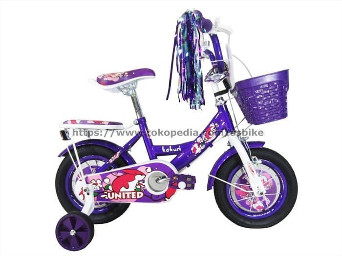 Promo    United Sepeda Anak 12