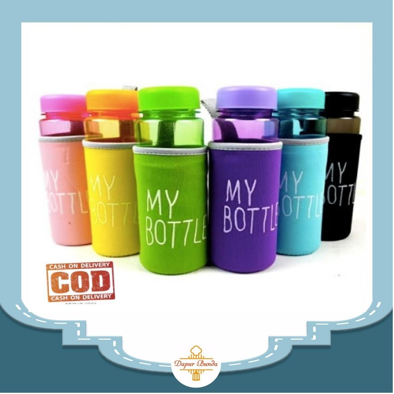 Dapurbunda Mbf My Bottle Bening Warna Full Pouch Busa Warna 500ml My Bottle Free Pouch Busa By Dapurbunda.
