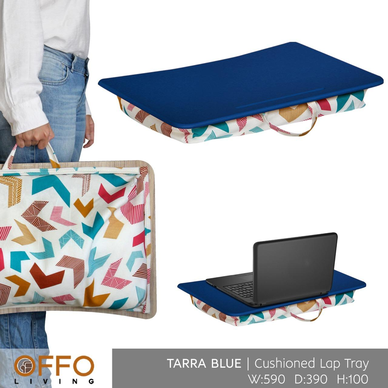 Offo Living - Bantal Laptop Tarra Cushioned Lap Tray By Offo Living Cibubur.