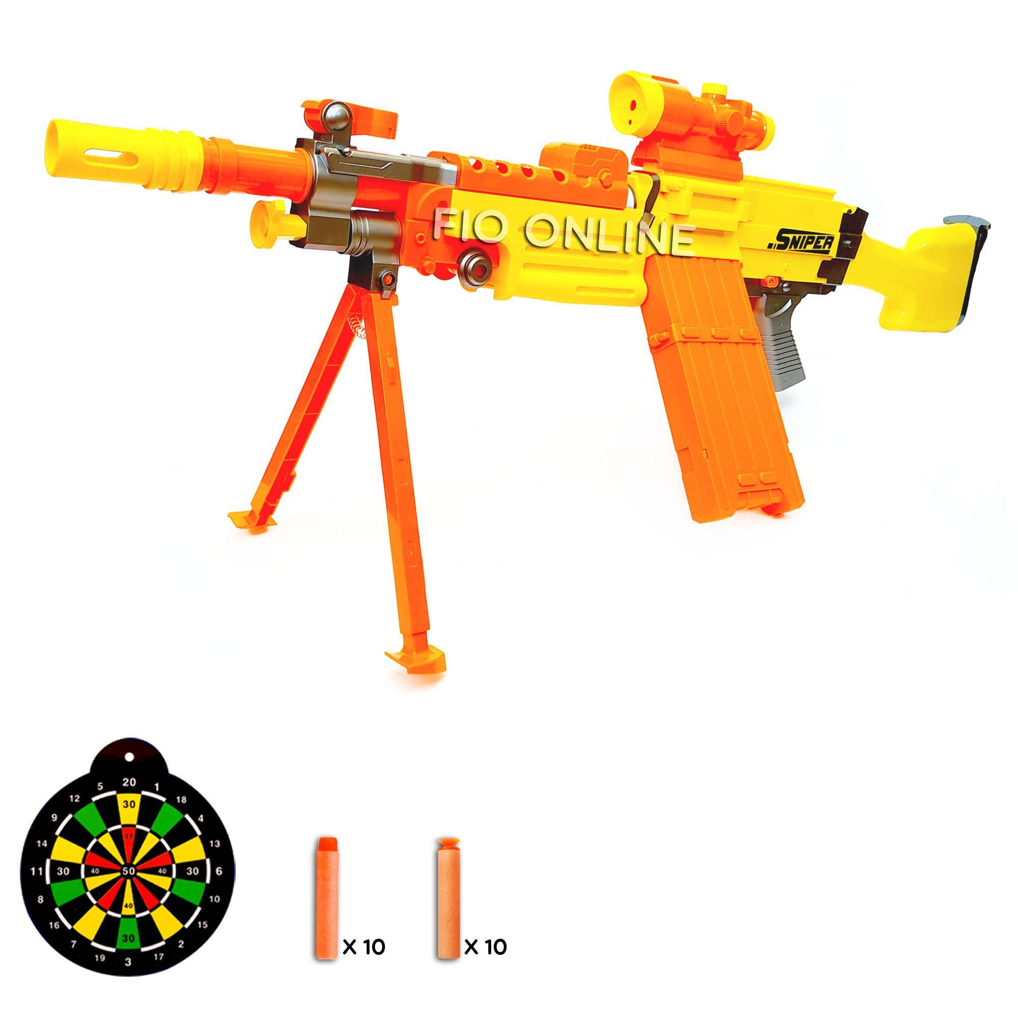 Fio Online - 7004B/7003B Sniper Soft Bullet Gun - Mainan Anak Senjatan Laras Panjang