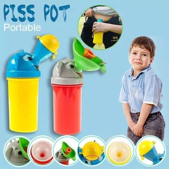 DC107 Pisspot Portable Pispot Anak Model Botol Travel Potty 545b51b431