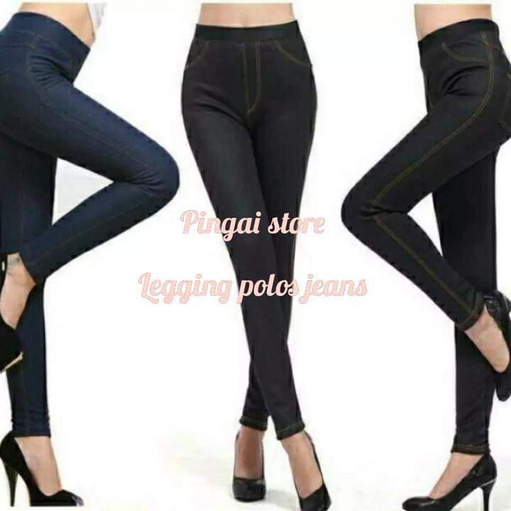 Celana Legging Wanita Celana Jeans Panjang Polos Wanita Legging Wanita Masa Kini Legging Polos Jeans Terbaru Lazada Indonesia
