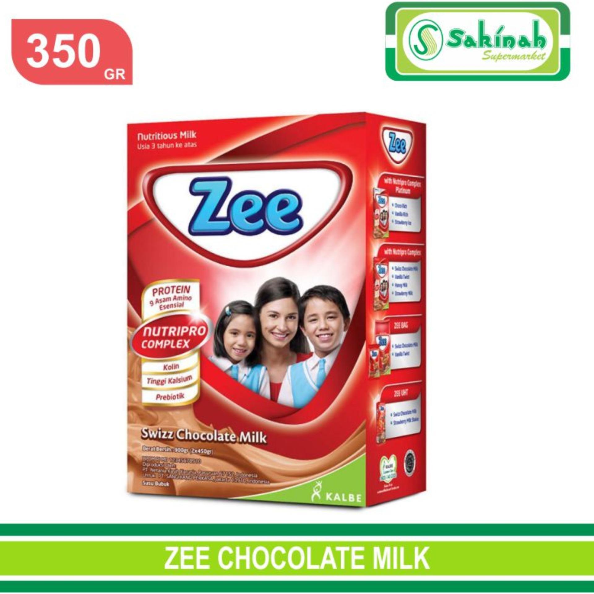 ZEE CHOCOLATE 350GR SUSU PERTUMBUHAN