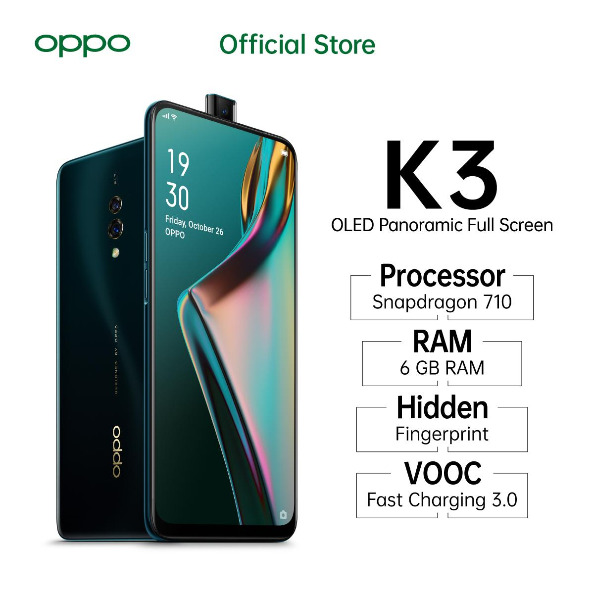 OPPO K3 Special Online Edition 6/64GB  OLED Panoramic Screen, COD, Cicilan 0%,