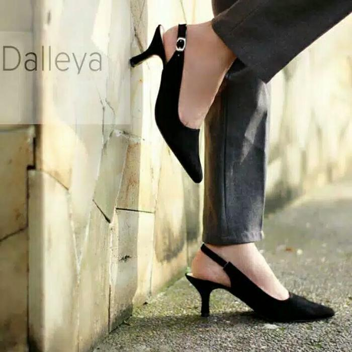 Lily shoes MAYDAY - Dalleya real pict sepatu high heels formal / kerja wanita kantor promo termurah