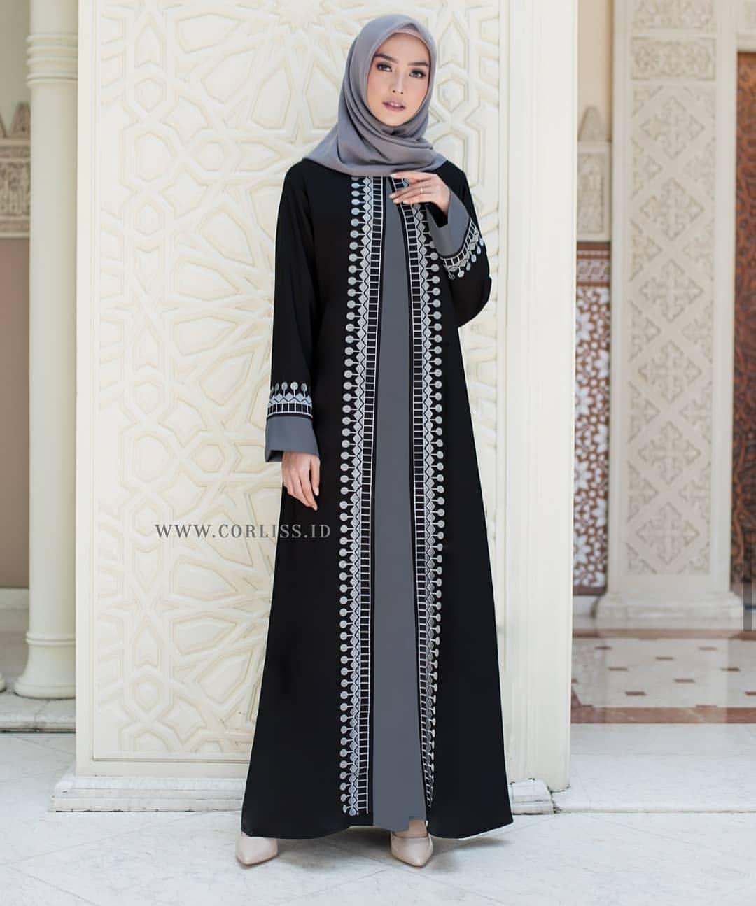 Gamis Abaya Gamis Abaya Arab Hitam Gamis Abaya Turkey Long Dress Wanita Long Dress Wanita Terbaru Gamis Syari Gamis Wanita Busana Muslim Wanita Terbaru