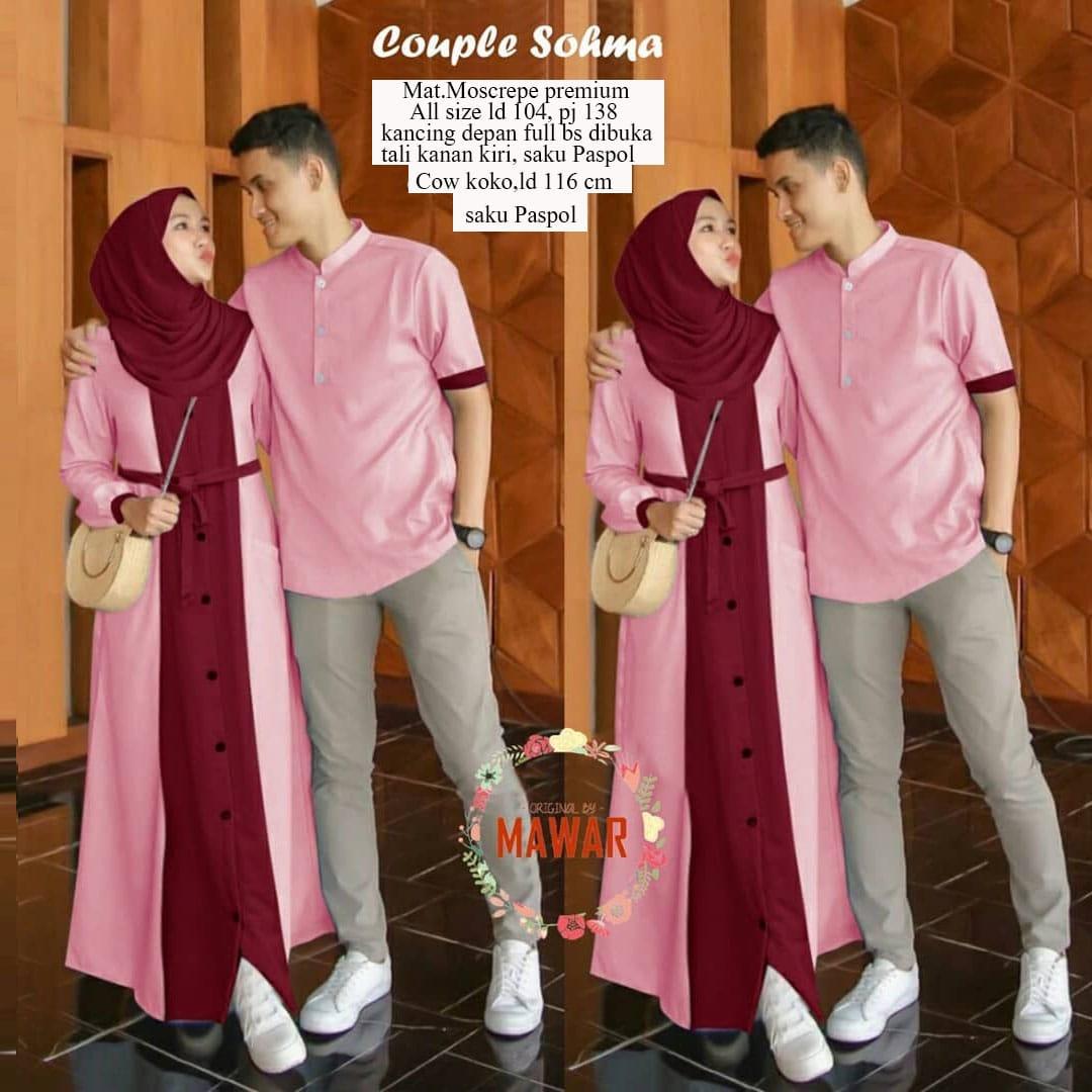 Baju Couple Pasangan Muslim Terbaru 2020 Gamis Couple Terbaru 2020 Gamis Murah Bagus Gamis Remaja Kekinian Gamis Couple Gamis Terbaru 2020 Modern Remaja Lazada Indonesia