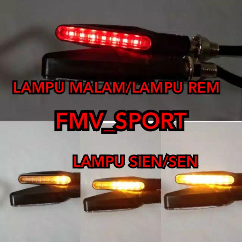 LAMPU SIEN SEN LED RUNNING UNIVERSAL RXKING/KLX/CRF 150/NINJA/R25/R15/XABRE/BYSON/CB150R/2T/VARIO/MT