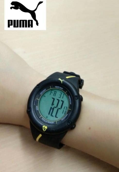 Jam tangan pria puma digital water resistan
