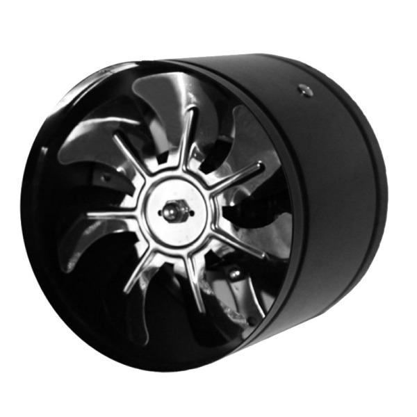 6 Inch Duct Fan Air Ventilator Metal Duct Ventilation Exhaust Fan Mini Extractor Bathroom Toilet Wall Mounted Fan Duct Fan Channel EU PLUG