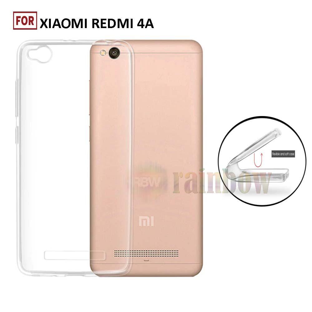 Rainbow Ultrathin Xiaomi Redmi 4A Softcase Xiaomi Redmi 4A Silikon Case Xiaomi Redmi 4A Ultrafit TPU