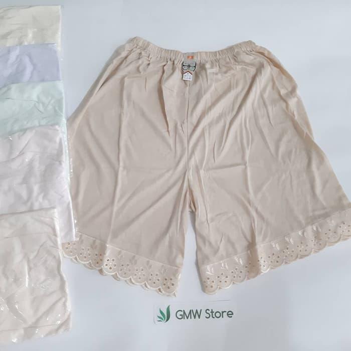 Androk Celana Underwear Kulot Di Atas Lutut Katun Adiler Ac 715 W290 By Gmw Store.