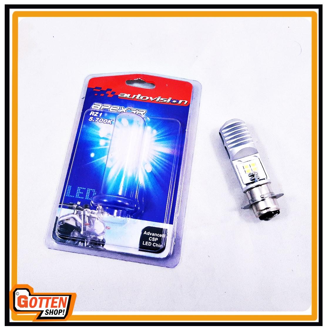 Lampu Bohlam Motor LED Autovision Socket H6 Putih Universal