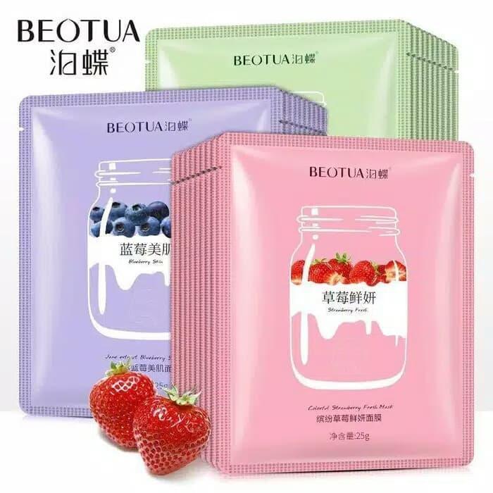 BEOTUA Yogurt Sheet Mask - Masker Wajah Original