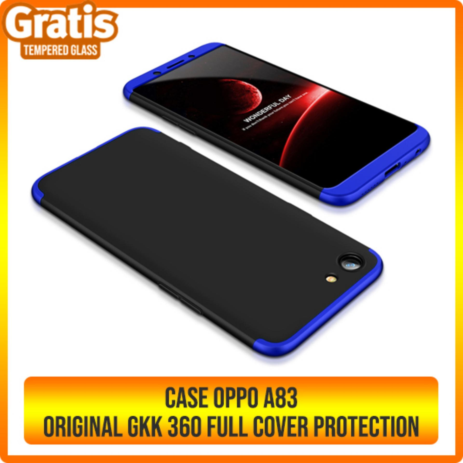 Rp 59.000. CASE OPPO A83 GKK ORIGINAL FULL COVER 360 PROTECTIONIDR59000