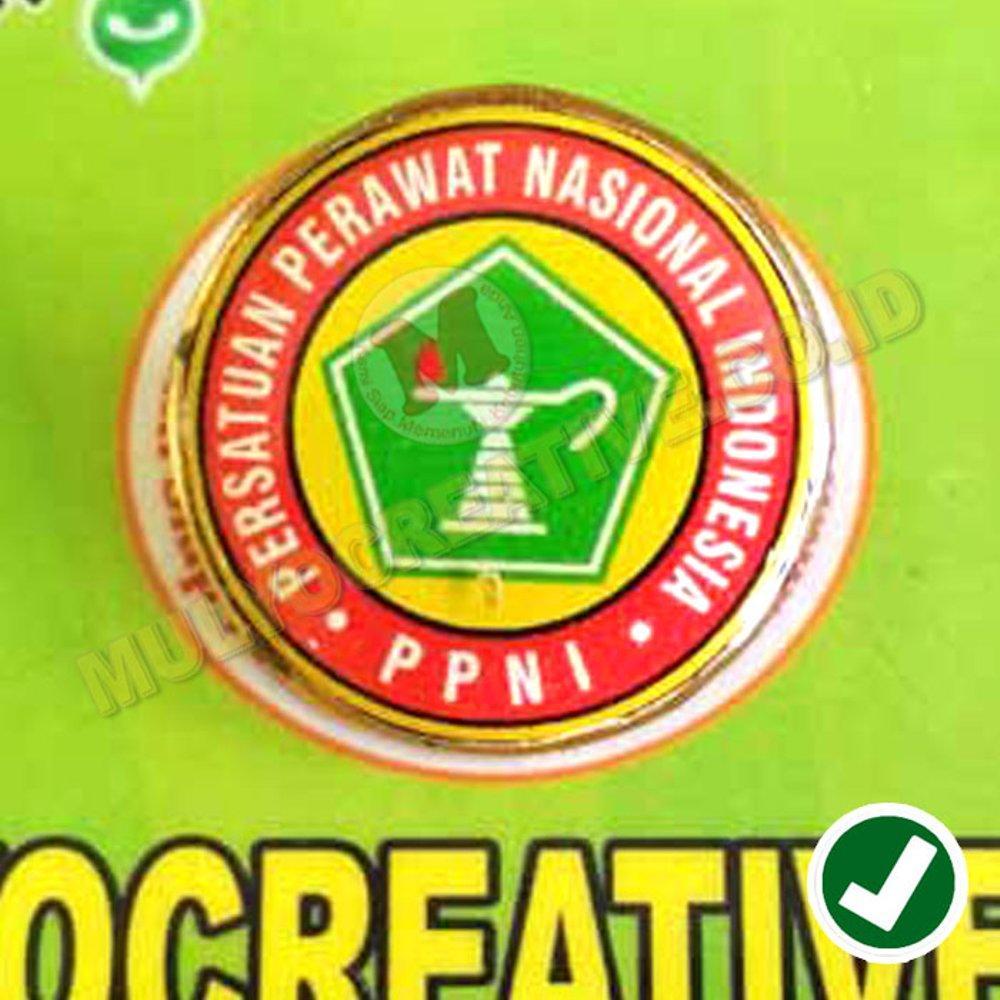 Lencana PPNI - Pin PPNI - Logo Persatuan Perawat Nasional Indonesia / 5biji
