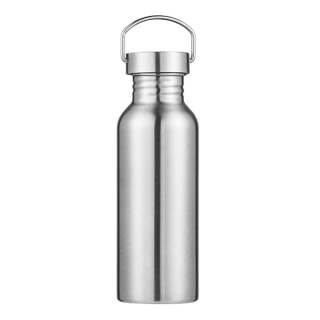 Portable Stainless Steel Water Bottle Sports Flasks Leak-Proof Travel Cycling 600Ml Camping Bottles thumbnail