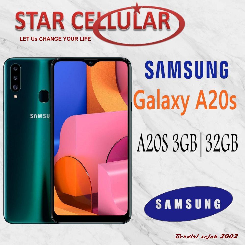 SAMSUNG GALAXY A20S 3/32GB RESMI