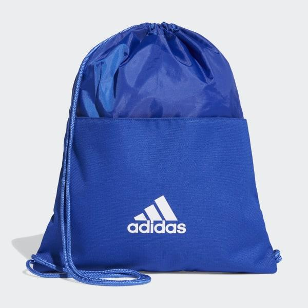 Adidas 3 Stripes Gymsack - Dt8651 - Biru By Sarangsepatu.