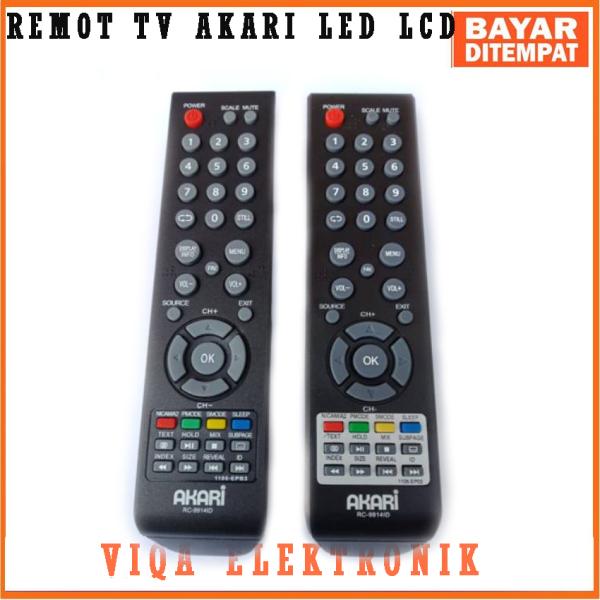 REMOT TV AKARI LED LCD KW Super