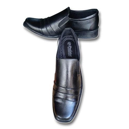 Hand Made Sepatu Pria E-01 Sepatu Pria Sepatu Formal Pria Sepatu Pantofel Pria Sepatu Kerja Kantor Berkualitas Harga Terjangkau Hitam