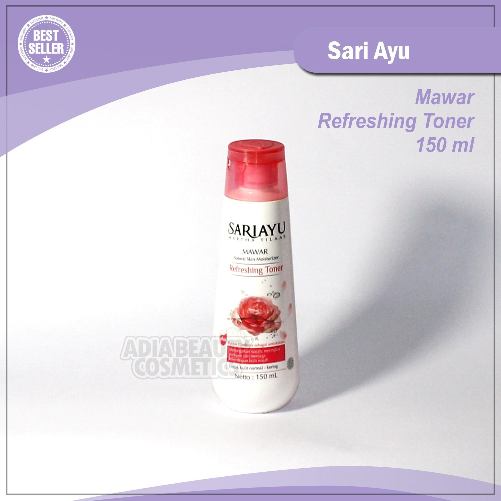 Adia Beauty Cosmetics - SARIAYU MAWAR Refreshing Toner - 150 ml // Penyegar Sari Ayu